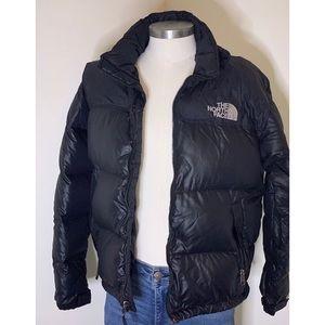 North Face Full Zip Puffer Jacket Sz L